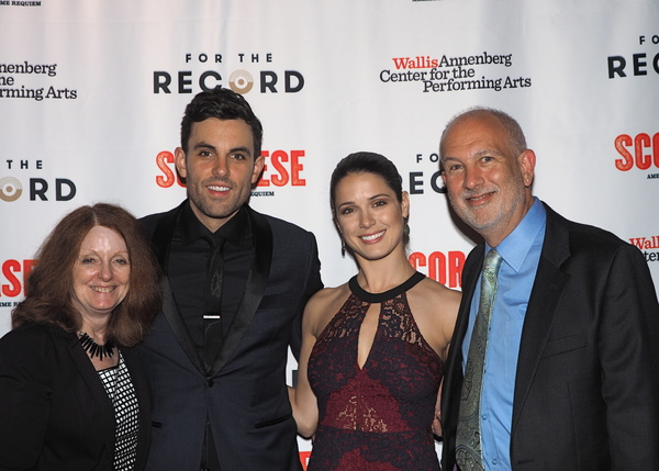 Peggy Tyler Resnick, Zak Resnick, Ali Cobrin, and Mark Resnick
