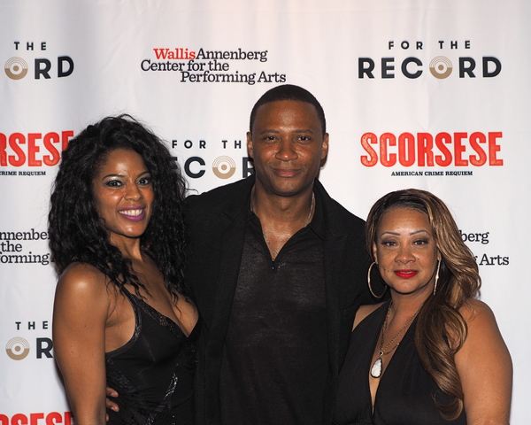 Dionne Gipson, David Ramsey, and Patrice Lovely