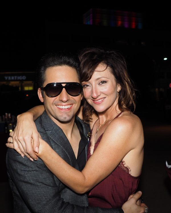 John Lloyd Young and Carmen Cusack