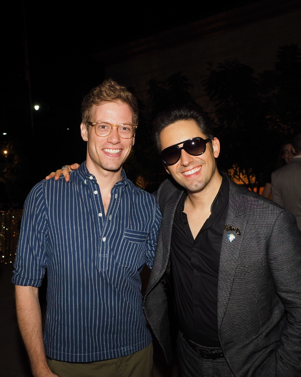 Barrett Foa and John Lloyd Young
