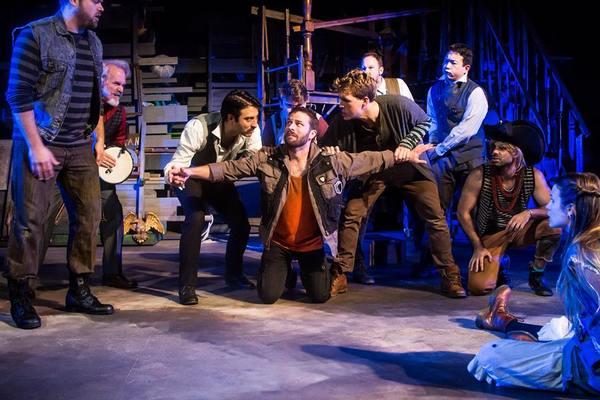 Spencer Johnson, Michael Heimos, Aric Martin, Jonathan Beran, Chandler David, Tristan Photo