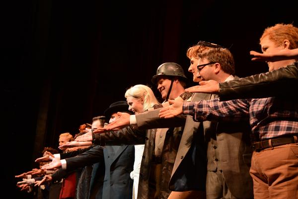 David Josefsberg, Ashley Spencer, John Treacy Egan and The Cast of The Producers
