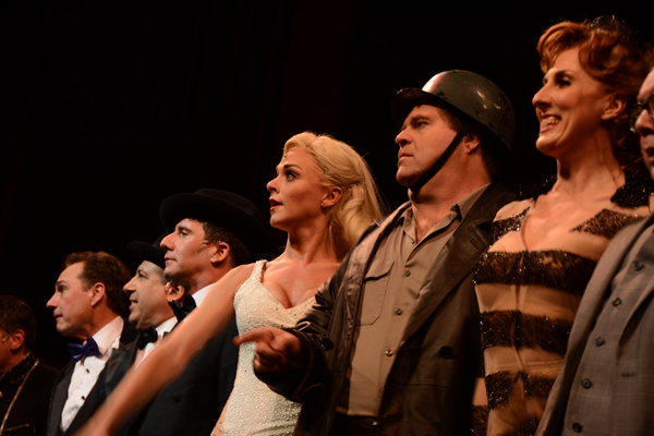 Kevin Pariseau, Michael Kostroff, David Josefsberg, Ashley Spencer, John Treacy Egan and The Cast of The Producers