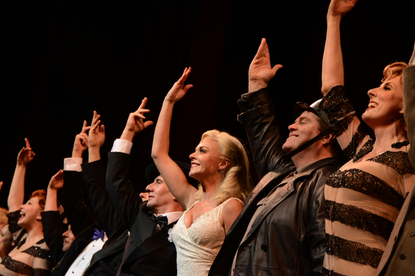 David Josefsberg, Ashley Spencer, John Treacy Egan and The Cast of The Producers