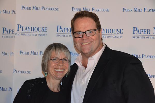 Martha Bromelmeier and John Treacy Egan Photo