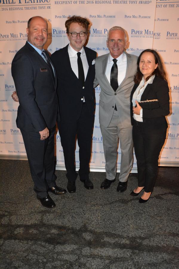 Todd Schmidt, Don Stephenson, Mark S. Hoebee and Emily Loesser Photo