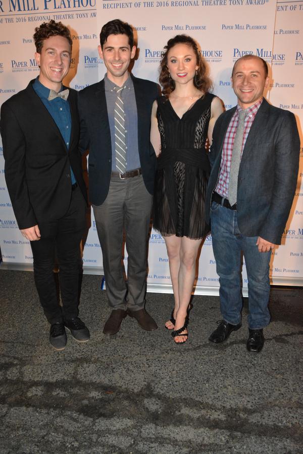 Jesse Carrey-Beaver, Brad Frenette, Kate Wesler and Michael Biren Photo