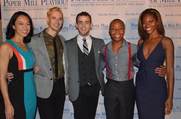 Naomi Kakuk, John Jeffords, Tim Capodice, Jeffrey Johnson II, and Jenny Laroche Photo