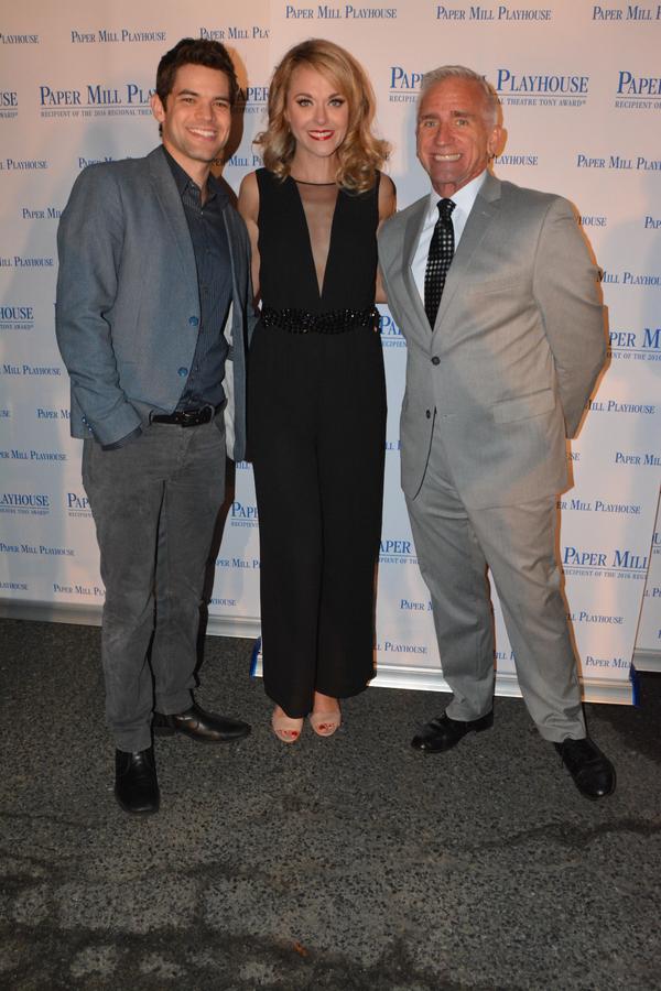 Jeremy Jordan, Ashley Spencer and Mark S. Hoebee