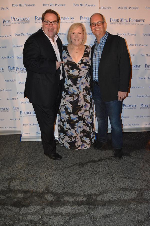 John Treacy Egan, Jessica Sheridan and Brad Oscar Photo