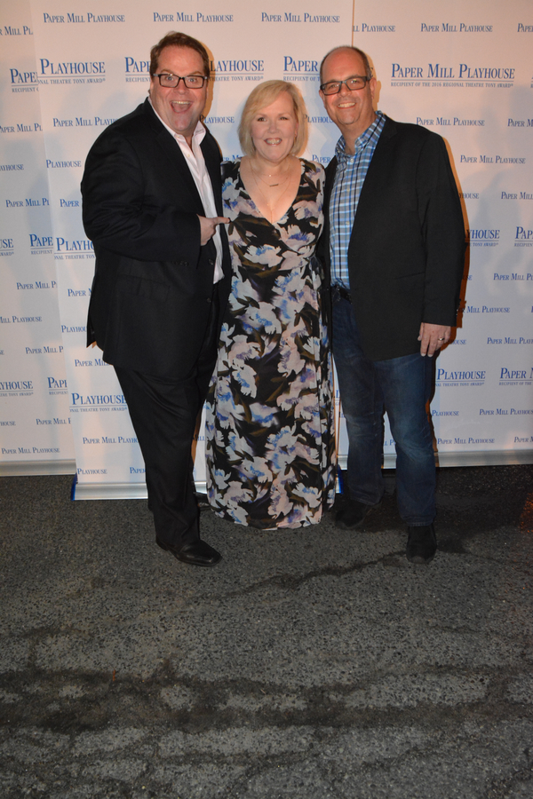 John Treacy Egan, Jessica Sheridan and Brad Oscar