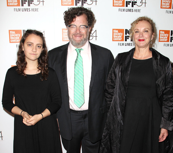 Nellie Lonergan, Kenneth Lonergan and J. Smith-Cameron