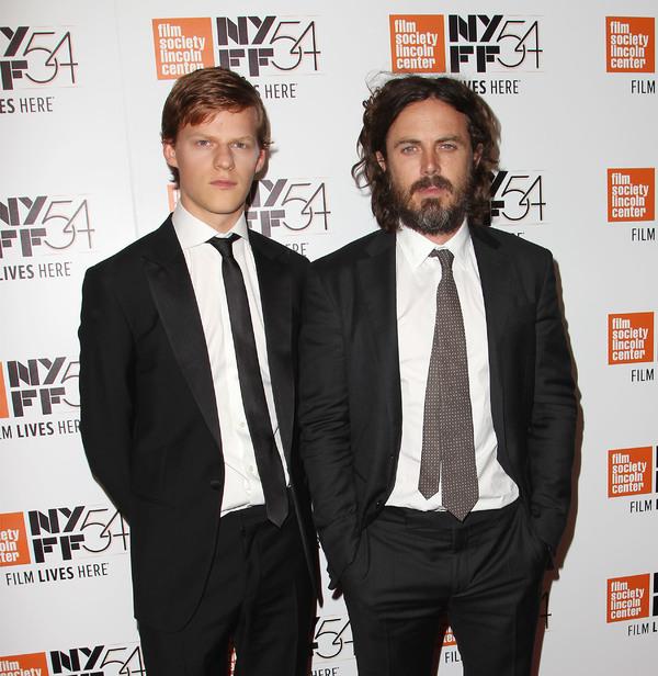 Lucas Hedges and Casey Affleck