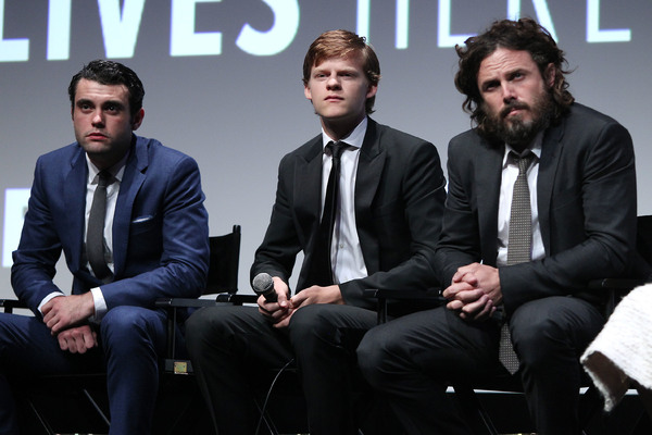 Christian J. Mallen, Lucas Hedges and Casey Affleck