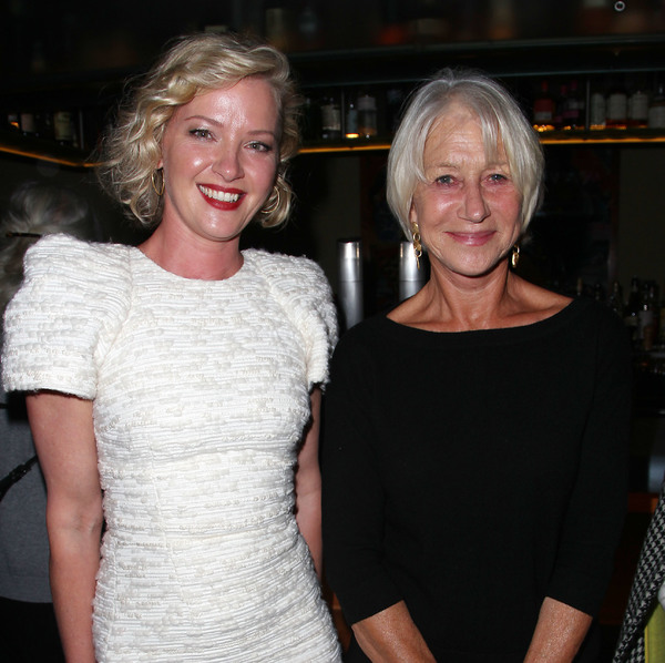 Gretchen Mol and Helen Mirren