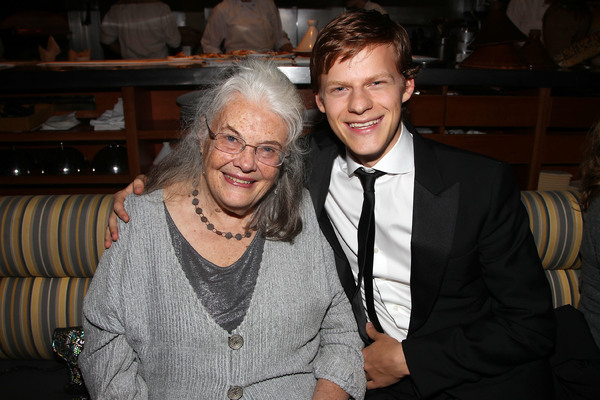 Lois Smith and Lucas Hedges