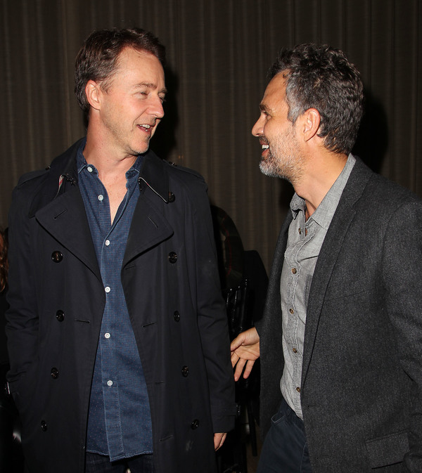 Edward Norton and Mark Ruffalo