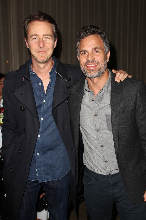 Edward Norton and Mark Ruffalo Photo