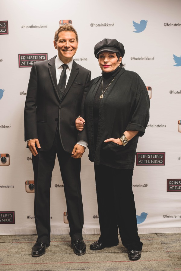 Photo Flash: Liza Minnelli Tributes Judy Garland with Michael Feinstein in San Francisco
