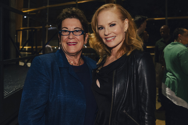 Molly Smith and Marg Helgenberger