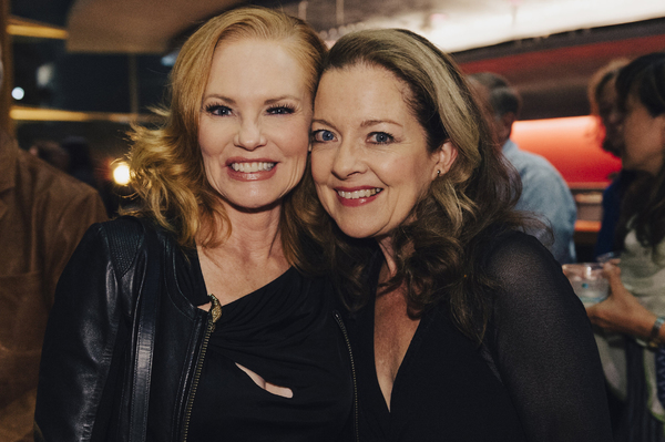 Marg Helgenberger and Isabel Keating