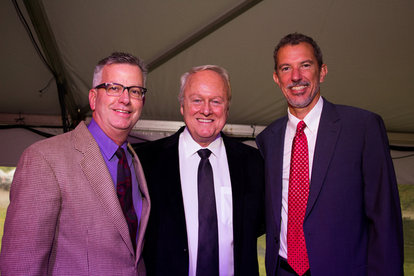 Fred White, Greg Kammerer and Alexander Fraser Photo