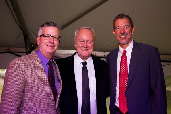 Fred White, Greg Kammerer and Alexander Fraser