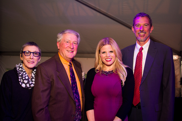 Robyn Goodman, Marvin Woodall, Megan Hilty and Alexander Fraser Photo