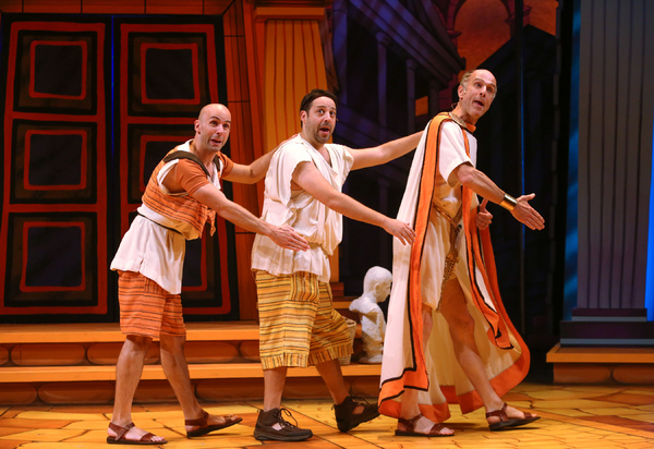 Photo Flash: First Look at Geva Theatre Center's A FUNNY THING HAPPENED ON THE WAY TO THE FORUM