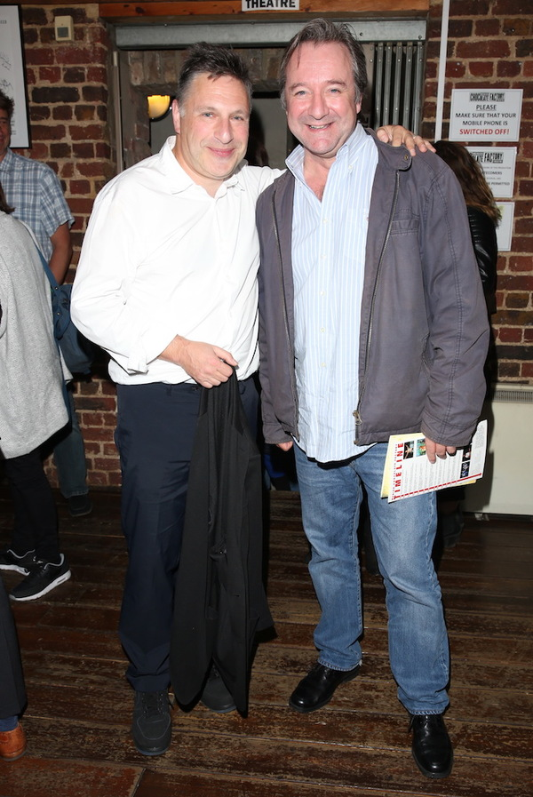Director Patrick Marber and Neil Pearson