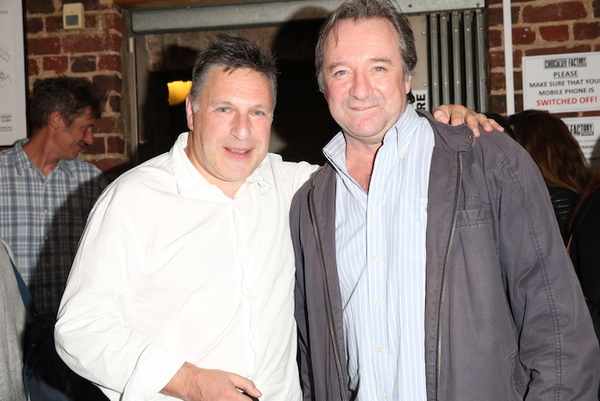 Director Patrick Marber and Neil Pearson Photo
