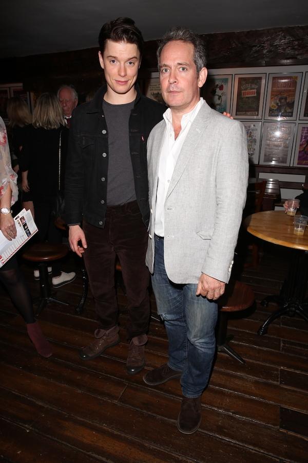 Freddie Fox and Tom Hollander
