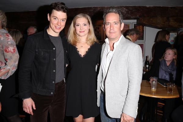 Freddie Fox, Amy Morgan and Tom Hollander