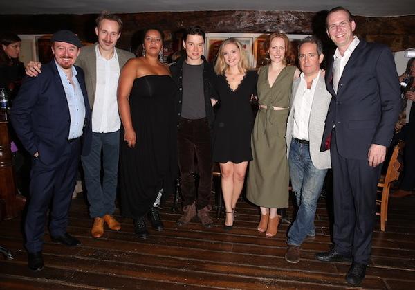 Photo Flash: Tom Hollander, Freddie Fox & More at TRAVESTIES Opening Party