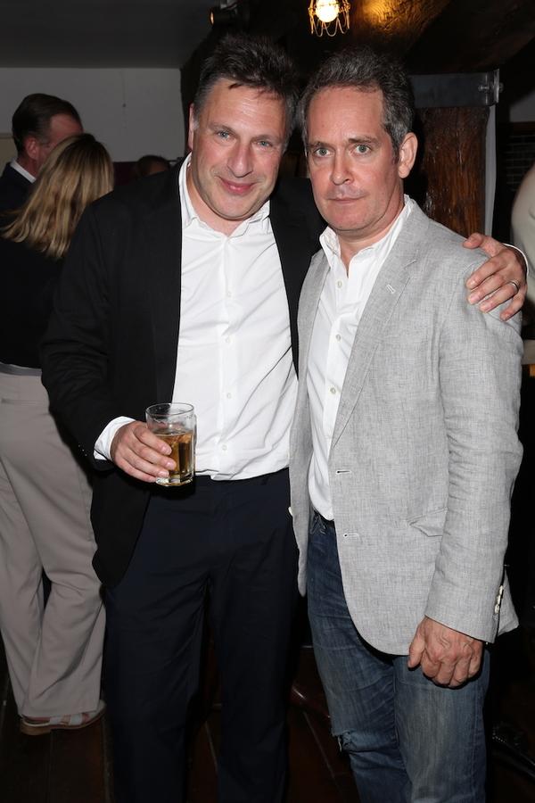 Director Patrick Marber and Tom Hollander