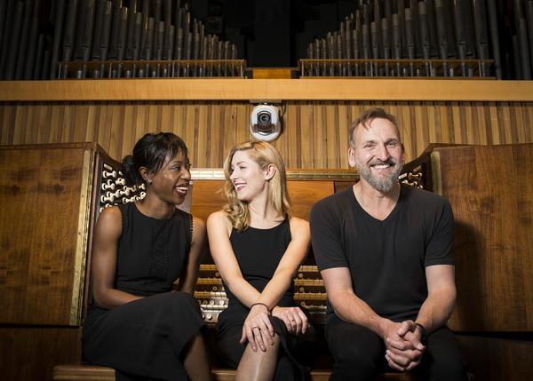 Nikki Amuka-Bird, Emma Hamilton and Christopher Eccleston