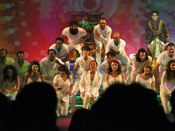 Photo Coverage: Curtain Call And Press Night Celebration Of 3-D Theatricals' JOSEPH AND THE AMAZING TECHNICOLOR DREAMCOAT