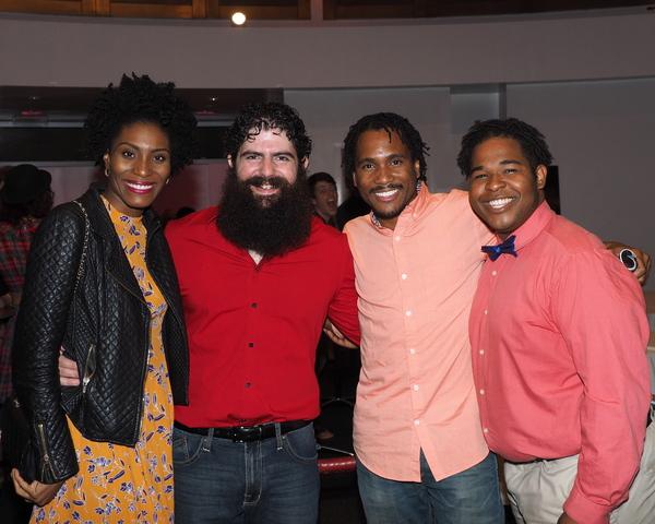 Jasmin Richardson, Jason Peter Kennedy, Eric B. Anthony, and Nic Hodges