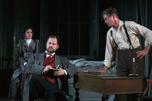 Photo Flash: First Look at DR. SEWARD'S DRACULA at First Folio Theatre
