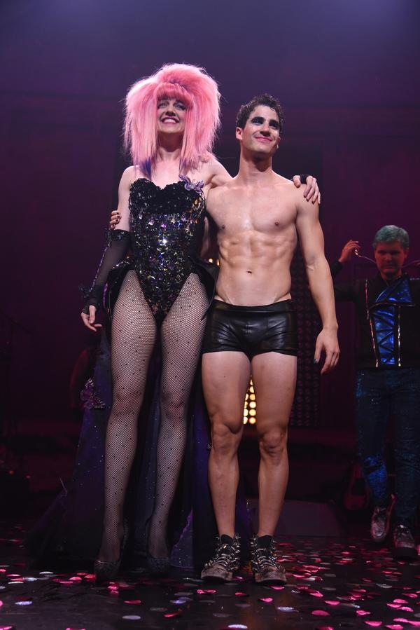 Darren Criss and Lena Hall
