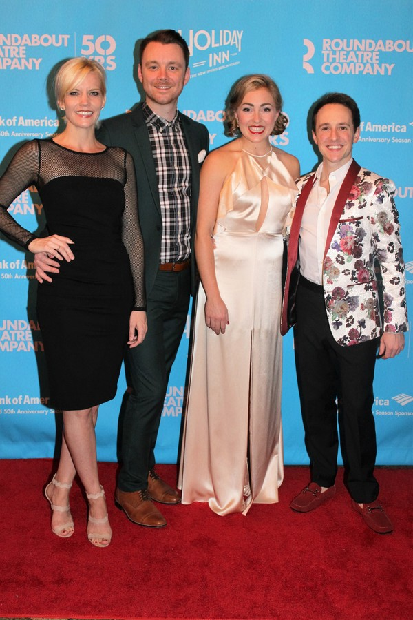 Photo Coverage: HOLIDAY INN Cast Parties Like It's Christmas on Opening Night!