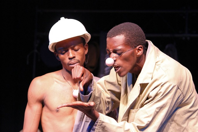 woza albert and poor theatre Revolution and conscience: south african theater  they also borrowed some of the poor theater techniques pioneered by co-author of woza albert (1983).