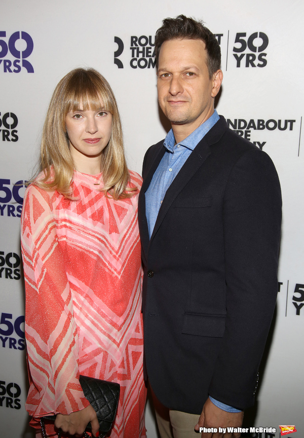 Sophie Flack and Josh Charles