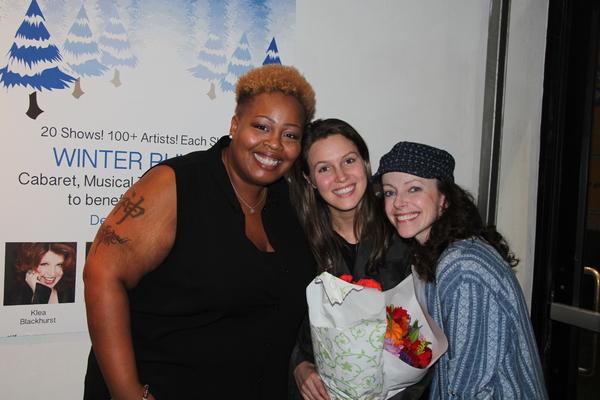 Erica Bradshaw, Jackie Hansen, Stephanie Cozart