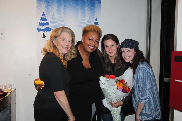 Frances Hill, Erica Bradshaw, Jackie Hansen, Stephanie Cozart