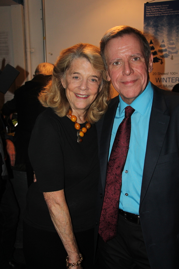 Frances Hill and Peter Napalitano
