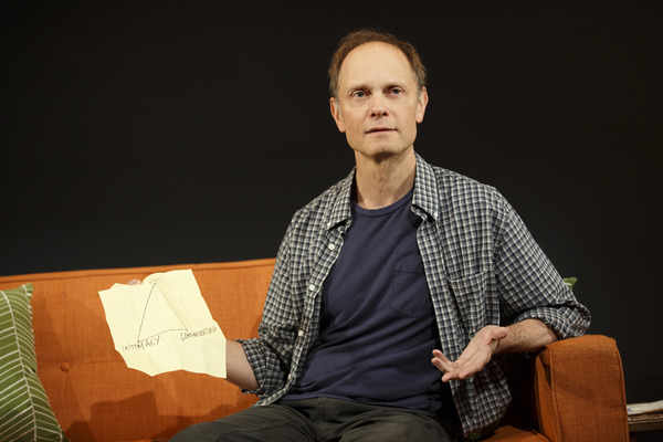 A Life Playwrights Horizons  Written by Adam Bock Directed by Anne Kaufman  David Hyde Pierce Marinda Anderson Brad Heberlee Nedra McClyde Lynne McCollough