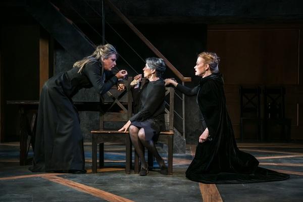 Carol Halstead, Ellen Fiske and Gretchen Hall