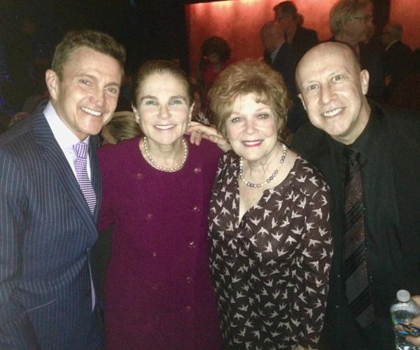 Jeff Harnar, Tovah Feldshuh, Anita Gillette, Alex Rybeck Photo