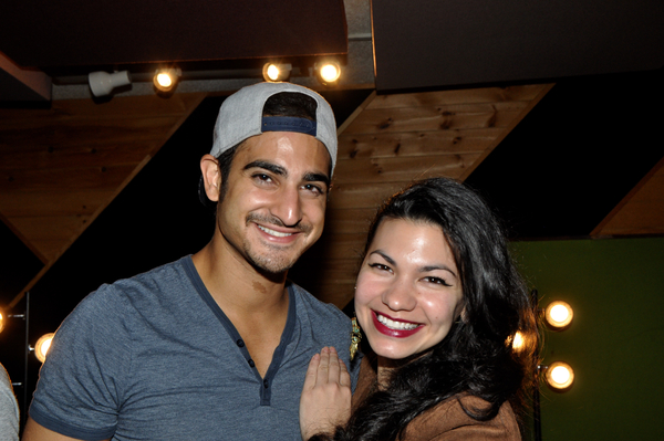 Exclusive Photo Coverage: ALADDIN Cast Get In the Holiday Spirit for Carols For A Cure
